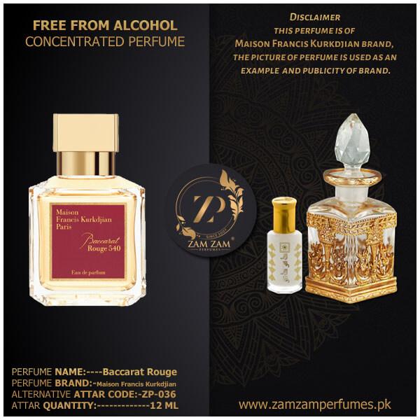 Baccarat Rouge 540 – Zam Zam Perfumes